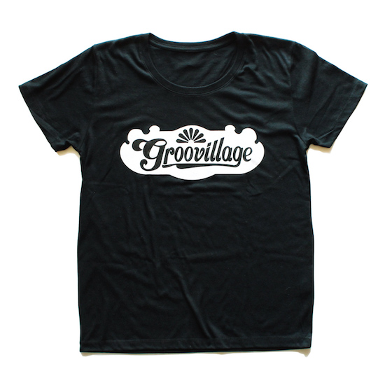 Groovillage_Tee_Black_Ladies