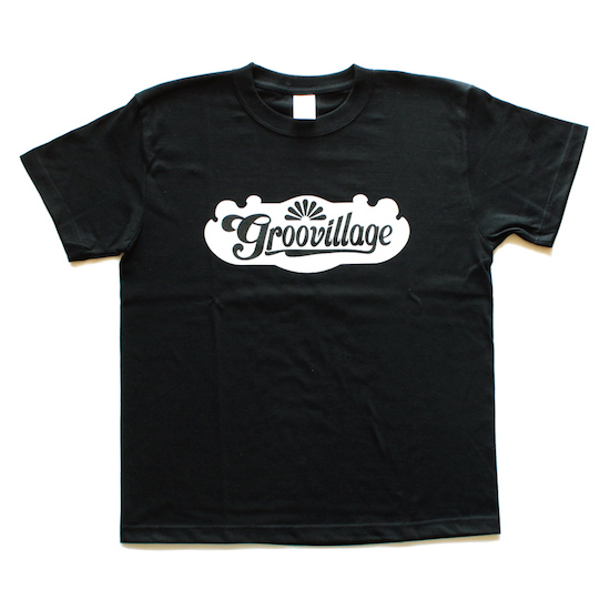 Groovillage_Tee_Black_Mens